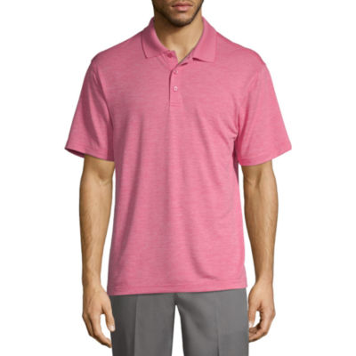 Haggar Mens Collar Neck Short Sleeve - Polo Shirt