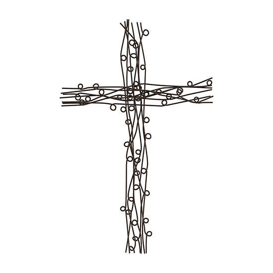 Trademark Fine Art Decorative Cross