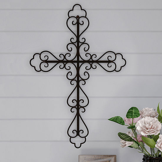 Trademark Fine Art Decorative Cross