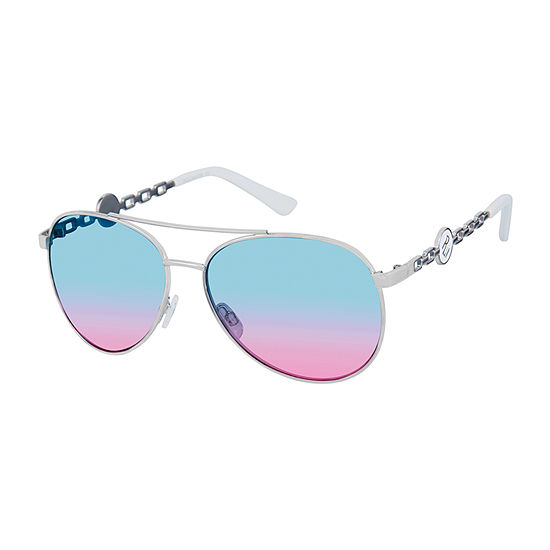 Rocawear Womens Full Frame Aviator UV Protection Sunglasses