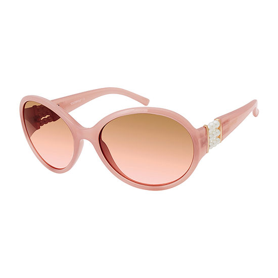 South Pole Womens Full Frame Round UV Protection Sunglasses