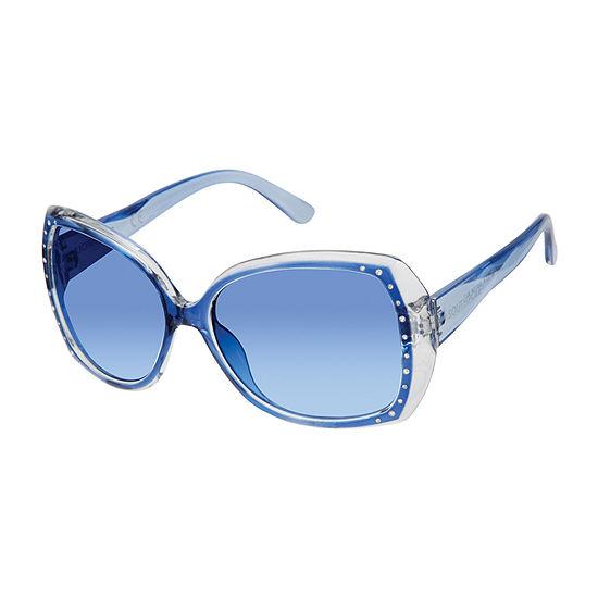 South Pole Womens Full Frame Cat Eye UV Protection Sunglasses