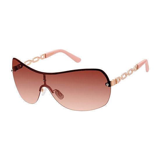 South Pole Womens Rimless Shield Uv Protection Sunglasses