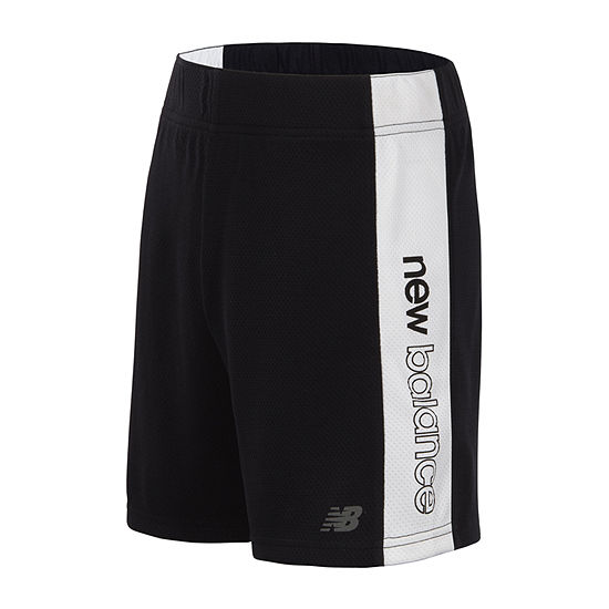 New Balance Girls Mid Rise Moisture Wicking Basketball Short - Big Kid