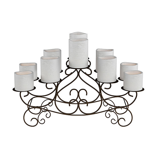 Irong Centerpiece Candle Holder