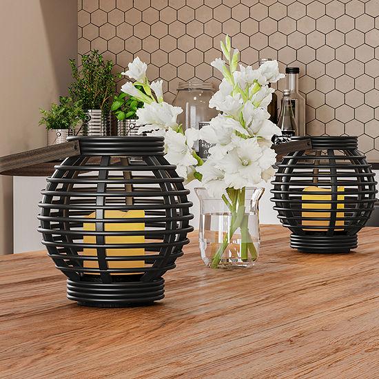 Trademark Fine Art 2-pc. Decorative Lantern