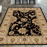 Como Abstract Traditional Oriental Area Rug