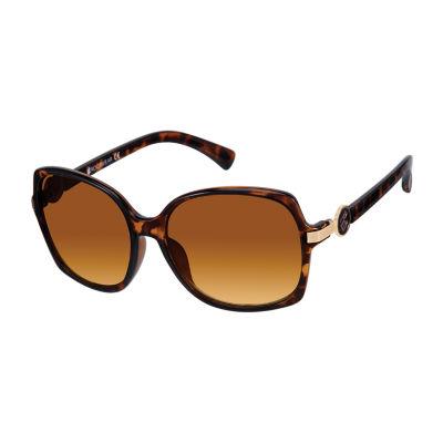 Rocawear Womens Full Frame Rectangular UV Protection Sunglasses