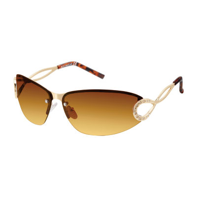 Rocawear Womens Rimless Cat Eye UV Protection Sunglasses