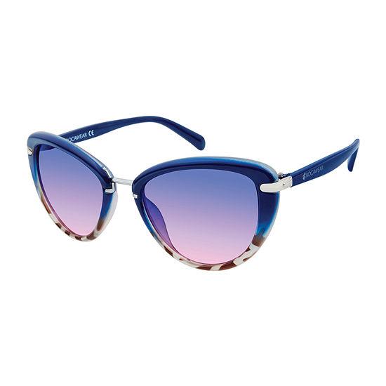 Rocawear Womens Full Frame Cat Eye UV Protection Sunglasses