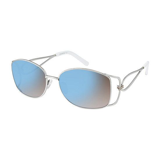South Pole Womens Full Frame Square UV Protection Sunglasses