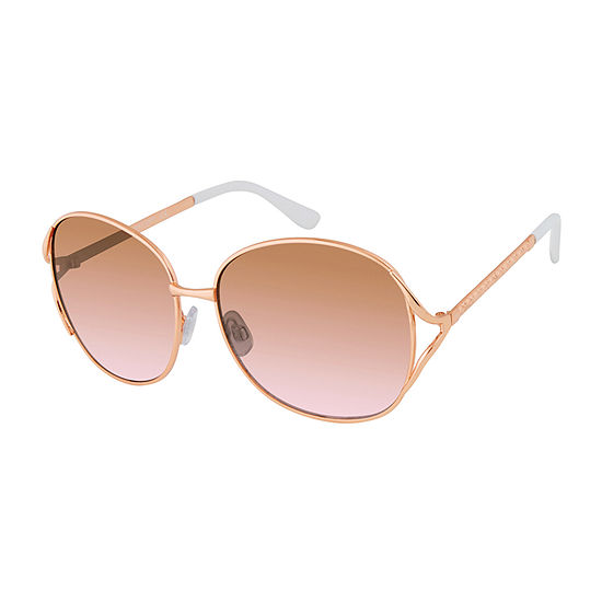 Us Polo Assn. Womens Full Frame Round UV Protection Sunglasses