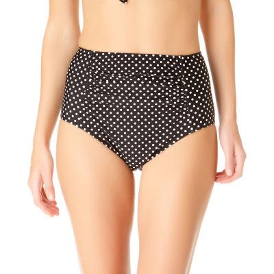 a.n.a Dots High Waist Swimsuit Bottom