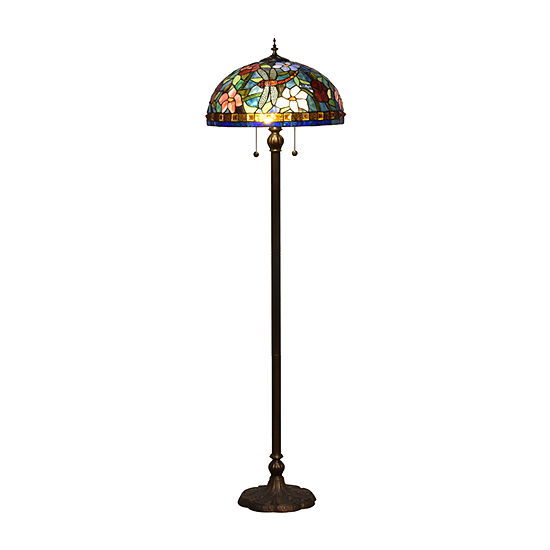 Dale Tiffany Jaffa Metal Floor Lamp