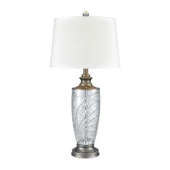 Dale Tiffany Esmee 24% Lead Handcut Crystal Table Lamp