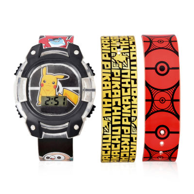 Pokemon Unisex Multicolor Strap Watch-Pok4142jc