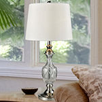 Dale Tiffany Vega 24% Lead Crystal Table Lamp