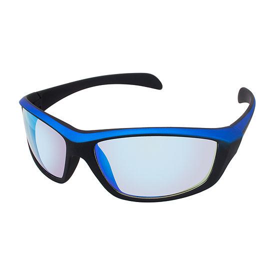 Xersion® Two Tone Sports Rectangular Sunglasses