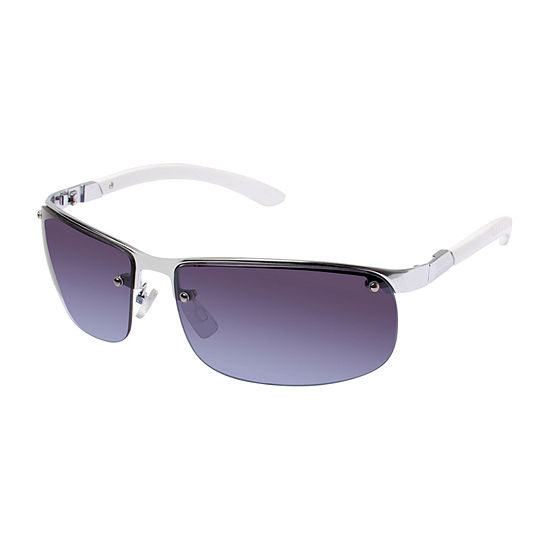 Arizona® Semi Rimless Rectangular Backframe Sunglasses