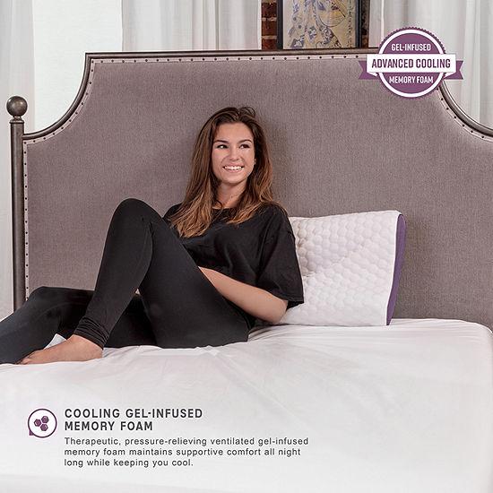 SensorPEDIC Maximum Cooling Memory Foam Contour Pillow