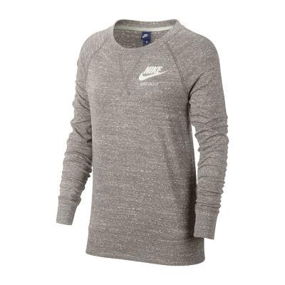 Nike Long Sleeve Crew Neck T-Shirt - Womens