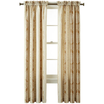 JCPenney Home Regan Rod-Pocket Curtain Panel