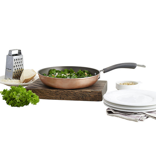 """Epicurious® Copper 10"""" Aluminum Nonstick Fry Pan"""