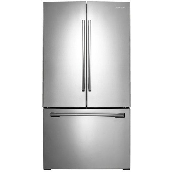 white french door refrigerator. 36\u201d Wide French Door Refrigerator With White