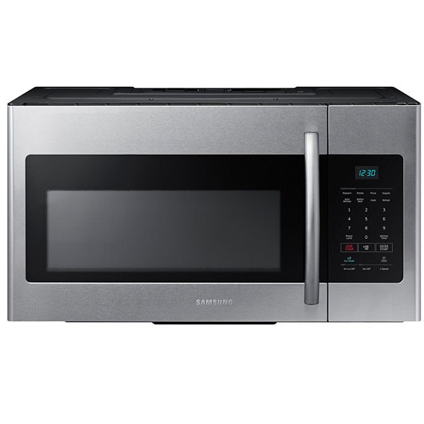 Samsung 1 6 Cu Ft Over The Range Microwave Oven