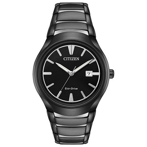 Citizen Mens Black Bracelet Watch-Aw1558-58e