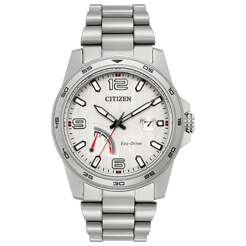 Citizen Mens Silver Tone Bracelet Watch-Aw7031-54a