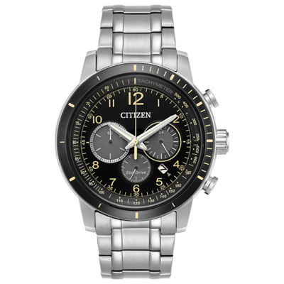Citizen Mens Silver Tone Bracelet Watch-Ca4358-58e