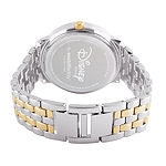 Disney Tangled Womens Two Tone Stainless Steel Bracelet Watch-Wds000068
