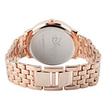 Disney Sleeping Beauty Womens Rose Goldtone Stainless Steel Bracelet Watch-W001827