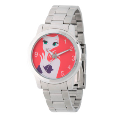 Disney Womens Silver Tone Bracelet Watch-Wds000074