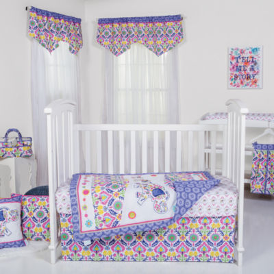 Waverly Santa Maria 5-pc Crib Bedding Set