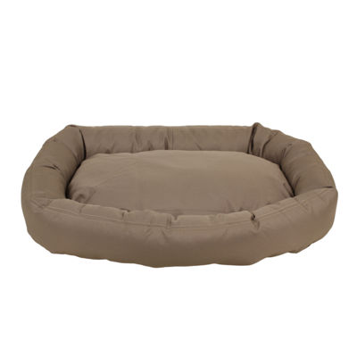Carolina Pet Company Brutus Tuff Comfy Cup Bolster Dog Bed