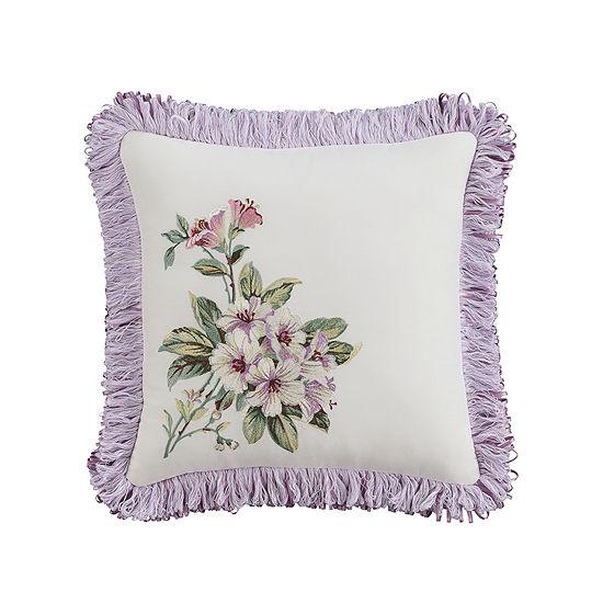 Williamsburg Palace 14x14 Square Throw Pillow