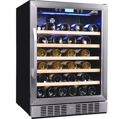 NewAir AWR-520SB 52 Bottle Compressor Wine Cooler