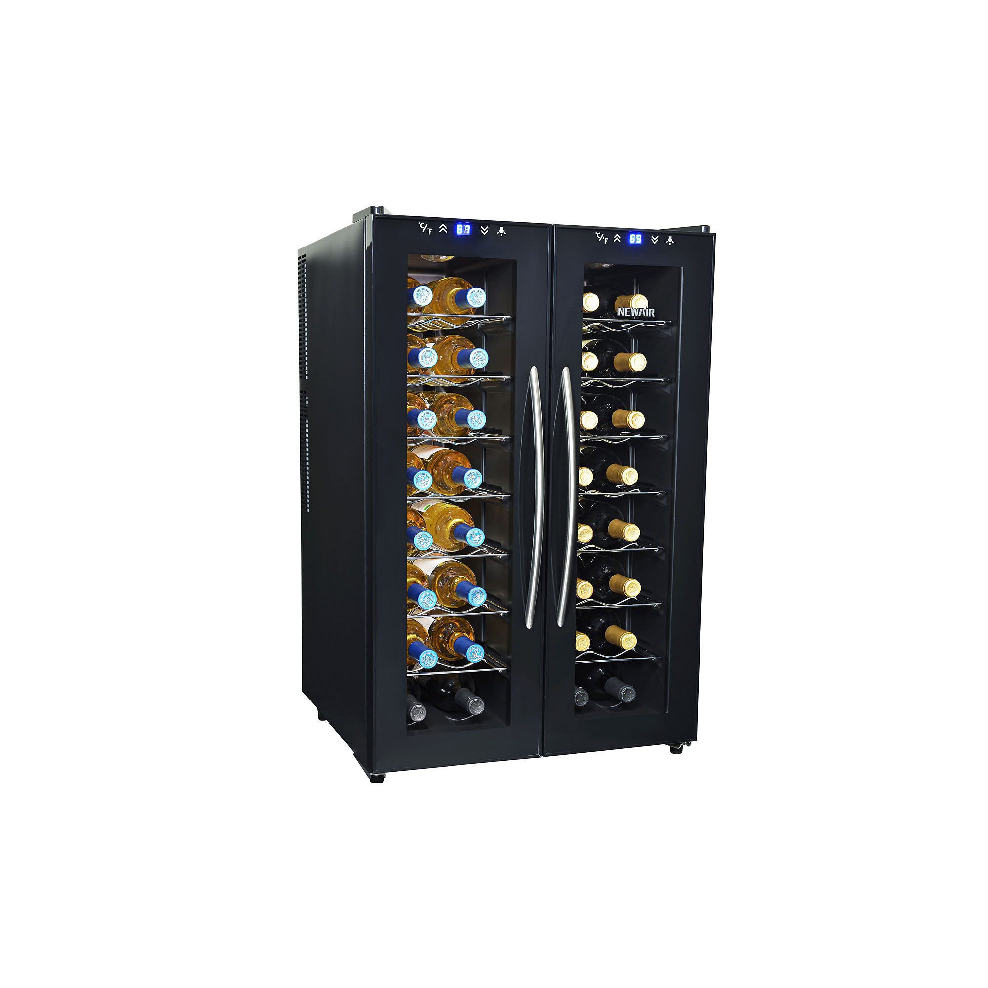 NewAir AW-320ED Dual Zone Thermoelectric Wine Cooler