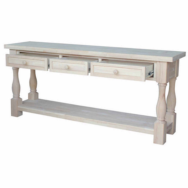 Tuscan 3-Drawer Console Table