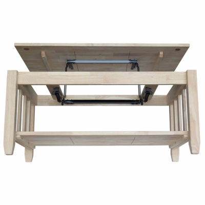Mission Tall Coffee Table