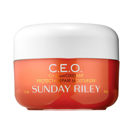 Sunday Riley C+E antioxidant protect + repair moisturizer