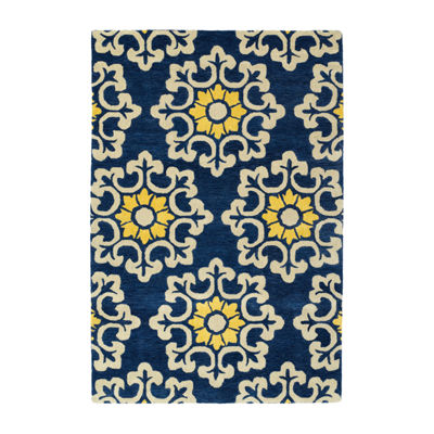 Kaleen Global Inspiration Medallion Rectangular Rug