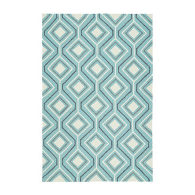 Kaleen Escape Diamonds Rectangular Indoor/OutdoorRug