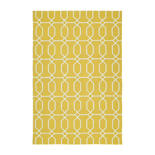 Kaleen Escape Links Rectangular Indoor/Outdoor Rug