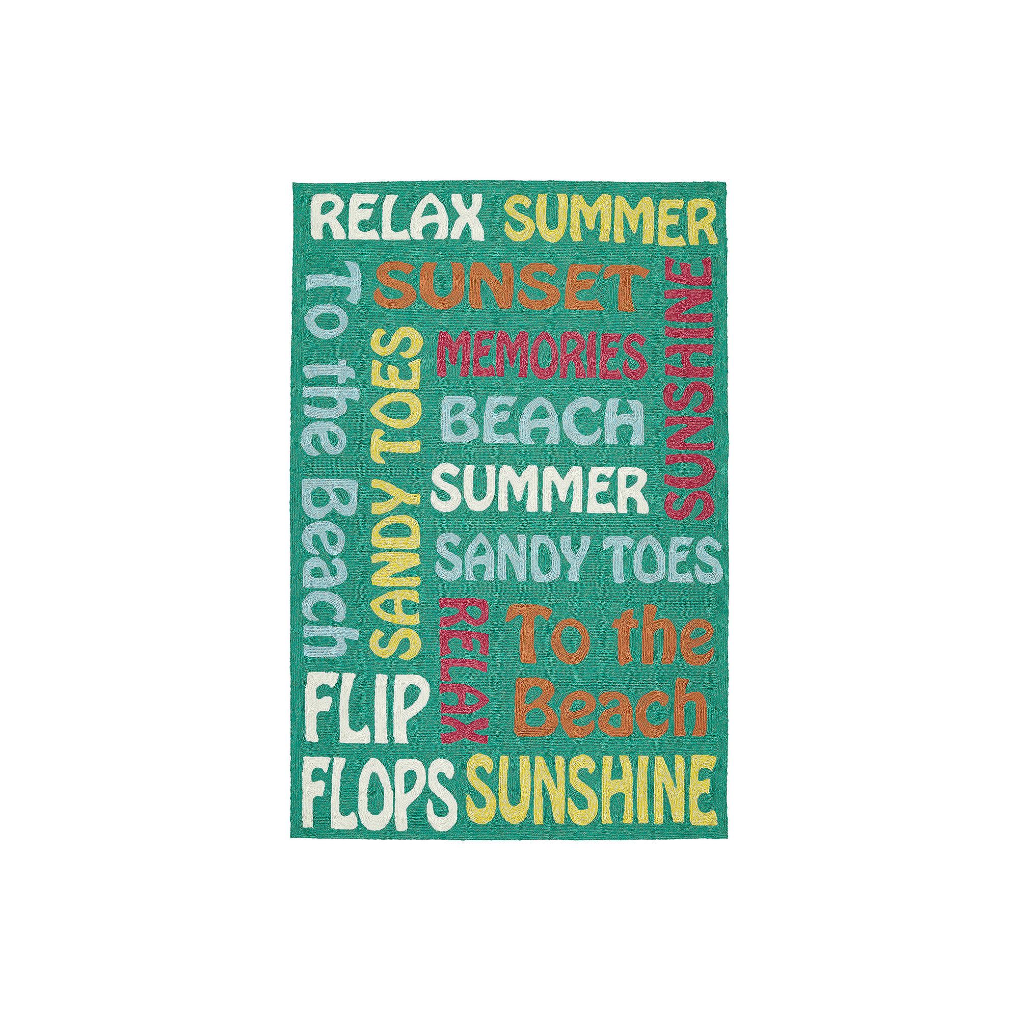 Kaleen Escape Summer Lovin' Rectangular Indoor/Outdoor Rug