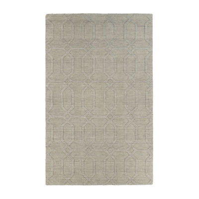 Kaleen Imprints Modern Links Rectangular Rug