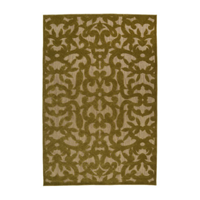 Kaleen Breath of Fresh Air Ivy Rectangular Indoor/Outdoor Rug