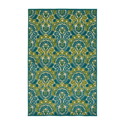 Kaleen Breath of Fresh Air Majesty Rectangular Indoor/Outdoor Rug